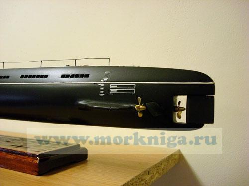 Модель дизельной ракетной подводной лодки проекта 611. Класс ZULU