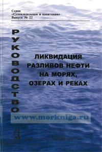 Ликвидация разливов нефти на морях, озерах и реках