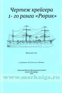 Чертежи кораблей. Бронепалубный крейсер 1-го ранга