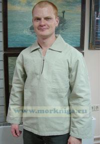 Рубашка мужская NEMO бежевая