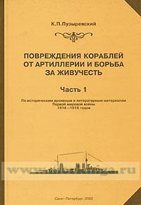 Повреждение кораблей от артиллерии и борьба за живучесть. Часть 1