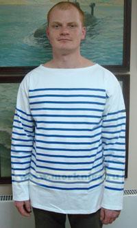 Блузон морской полосатый NAVAL II длинный рукав