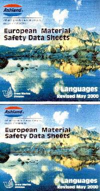 CD European Material Safety Data Sheets (английская версия)