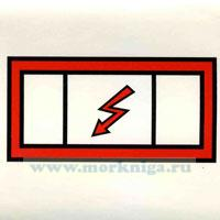 Знак ИМО. Аварийный распределительный щит (191)