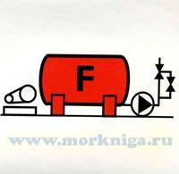 Знак ИМО. JMC IMO 3.13 Установка пенного пожаротушения (139)