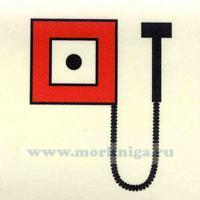 Знак ИМО. Место подачи сигналов пожарной тревоги вручную (119)