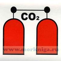 Знак ИМО. Станция пожаротушения CO2 (129)