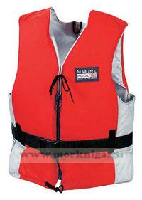 Жилет спасательный 90++кг Marinepool Champion Classic II красный\светло-серый