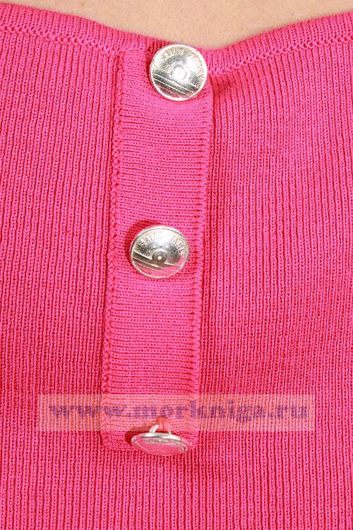 Свитер Luchor женский полосатый, розовый р. 38