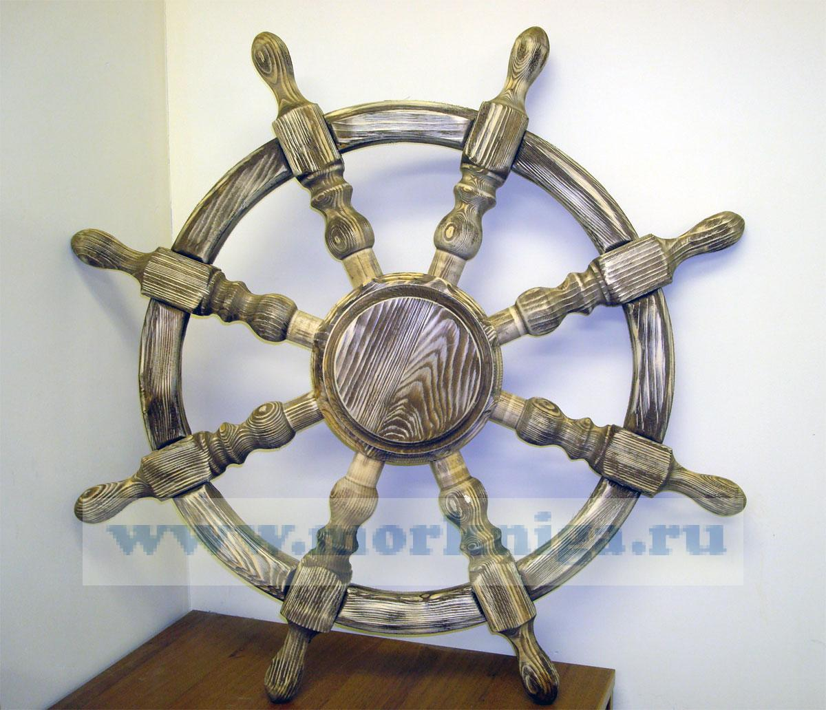 Штурвал под старину (диаметр 830 мм, толщина 100 мм)
