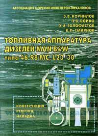 Топливная аппаратура дизелей MAN B&W типа 46-98 MC, L23/30 (конструкция, ревизия, наладка)