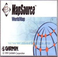 CD Garmin World Map