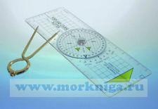 Плоттер для яхтсменов с измерителем + ластик и карандаш