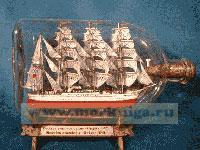 Корабль в бутылке. Барк «Седов»