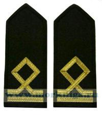 Погоны Матроса II класса морского флота. 2 должностная категория