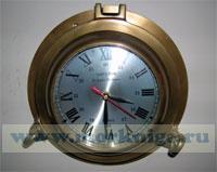 Часы-хронометр каютный в иллюминаторе Rickmer Rickmers