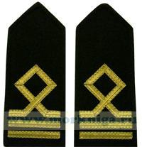Погоны Матроса I класса морского флота. 3 должностная категория