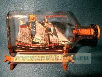 Корабль в бутылке. Русская торговая шхуна XVIII века