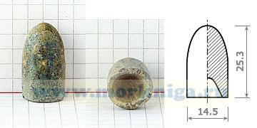Пуля Притчета к пехотному ударному нарезному ружью Энфилда образца 1853 г. и артиллерийскому карабину образца 1853 г. (Великобритания).