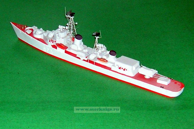 Модель корабля пр. 56 М