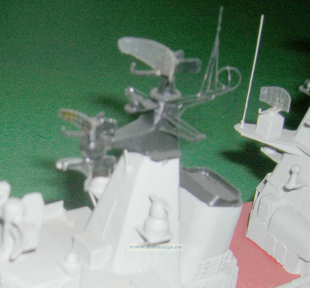 Модель корабля пр. 58