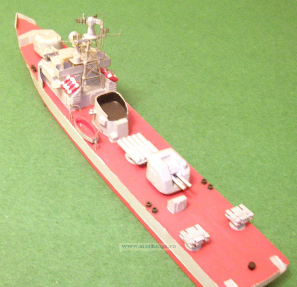 Модель корабля пр. 159