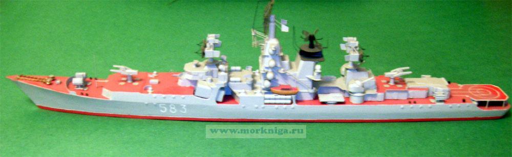 Модель корабля пр. 1134 А