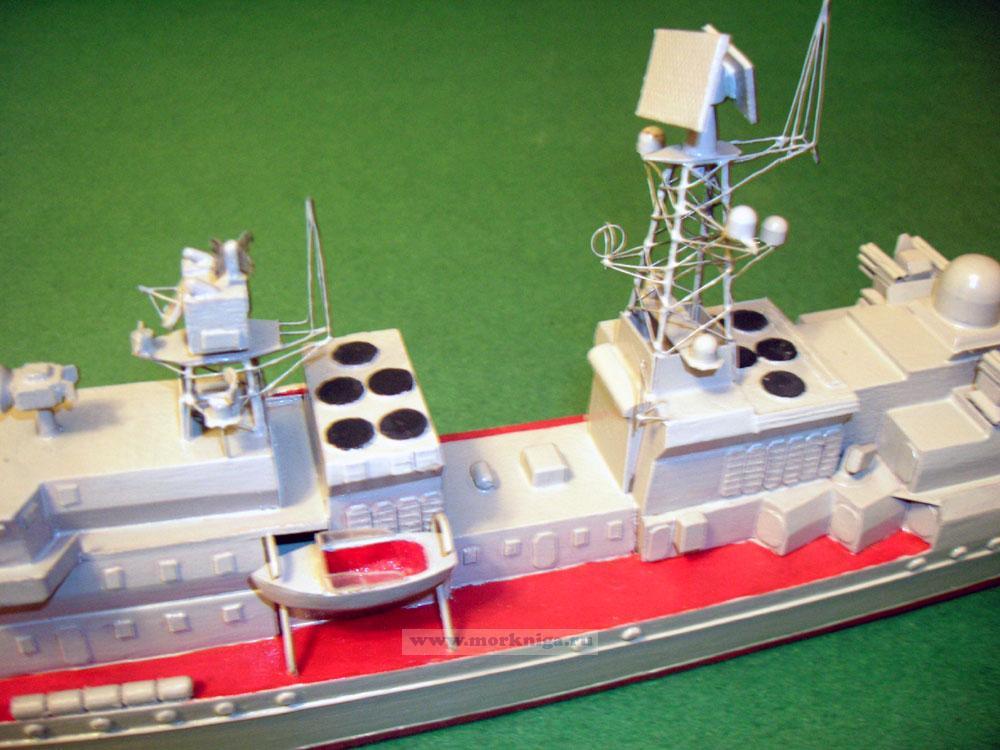 Модель корабля пр. 11540