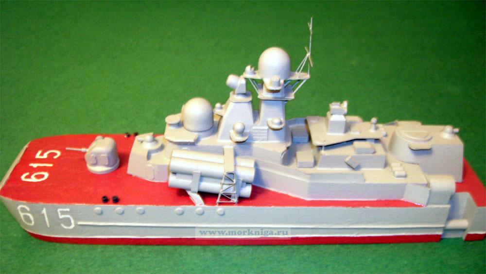Модель корабля пр. 1239