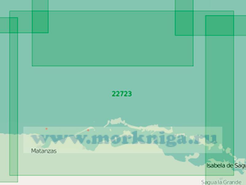22723 От маяка Канаси до порта Ла-Исабела (Исабела-де-Сагуа) (Маштаб 1:200 000)