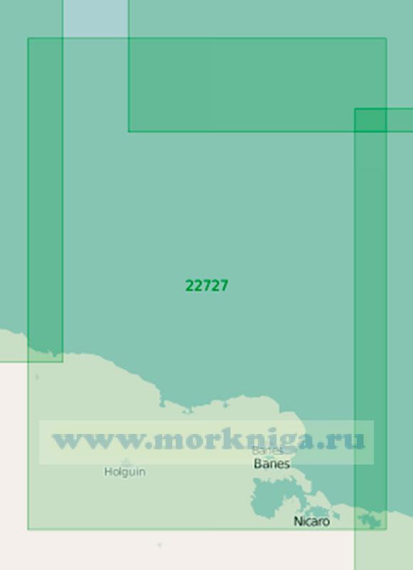 22727 От бухты Пуэрто-Падре до бухты Сагуа-де-Танамо (Танамо) (Маштаб 1:200 000)