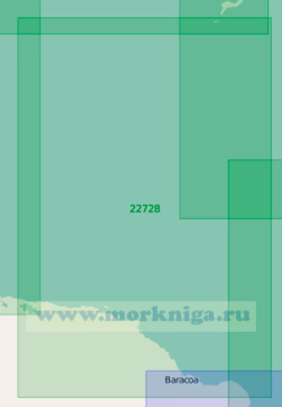 22728 От бухты Сагуа-де-Танамо (Танамо) до мыса Майси (Маштаб 1:200 000)
