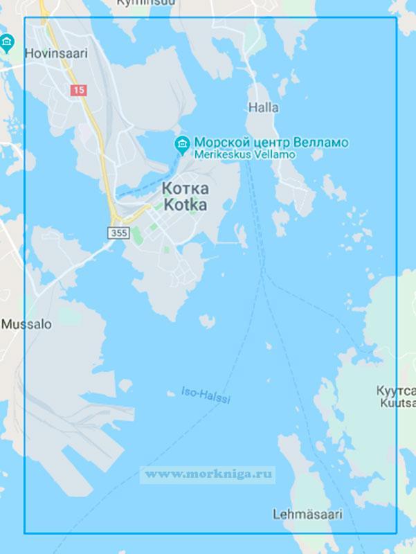 29001 Порт Котка (Масштаб 1:10 000)