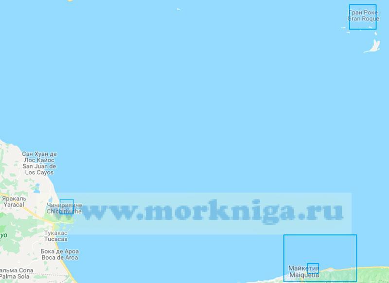 39668 Порты и гавани побережья Венесуэлы (Маштаб 1:0)
