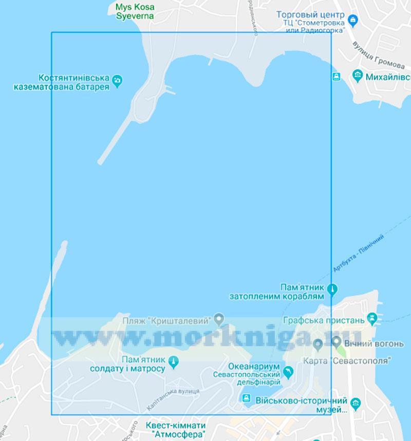 38142 От мыса Константиновский до Артиллерийской бухты (Маштаб1:2000)