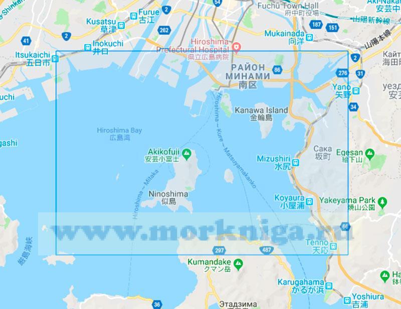 69377 Восточная часть порта Хиросима (Маштаб 1:15000)