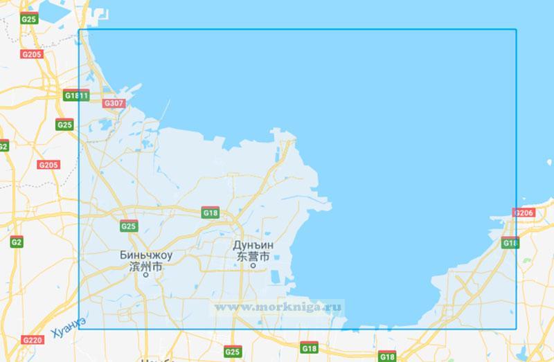 62379 От устья реки Цихэкой до залива Лункоуган (Маштаб 1:250000)
