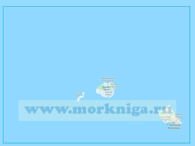 61184 От острова Оаху до острова Нихоа (Маштаб 1:500000)
