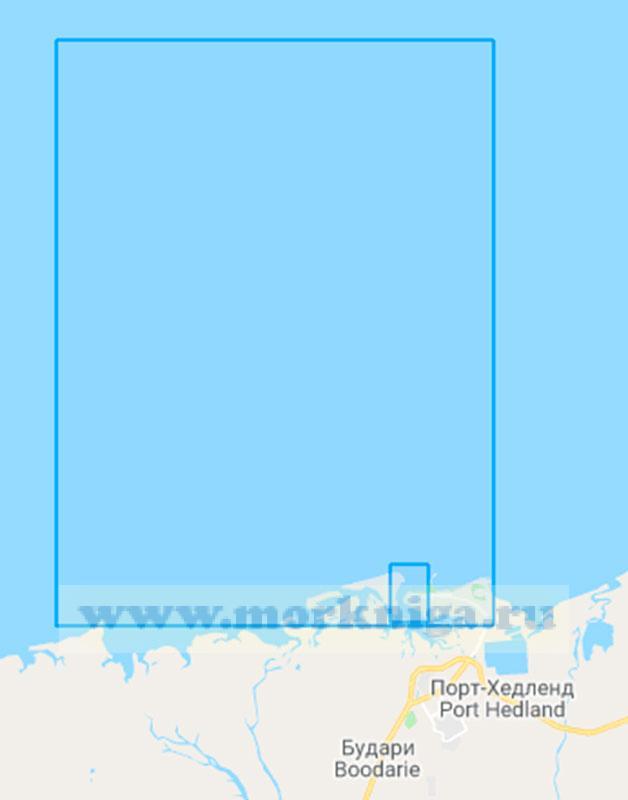 45532 Порт-Хедленд с подходами (Матшаб 1:50000)