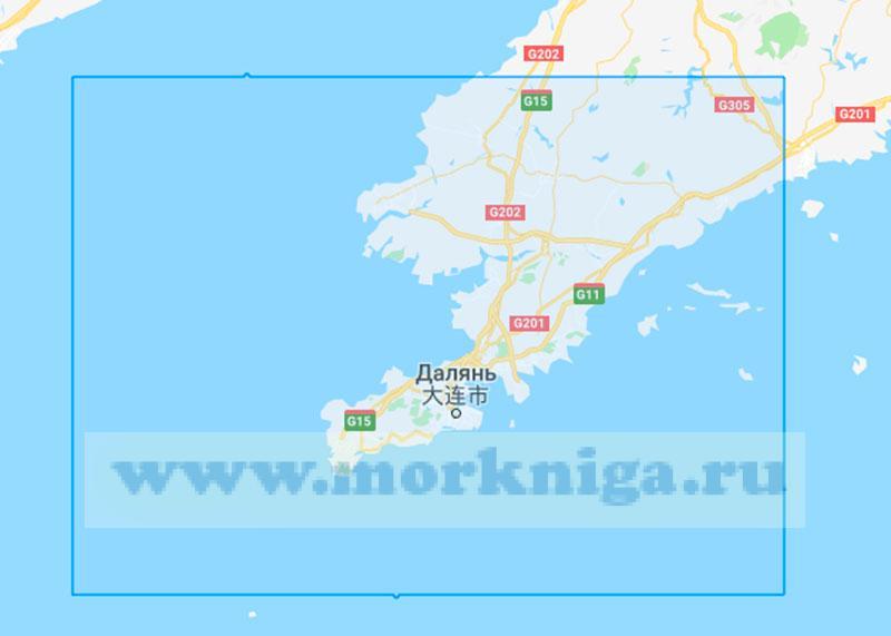 62376 От островов Вайчаншаньледао до бухты Фучжоувань (Маштаб 1:250000)