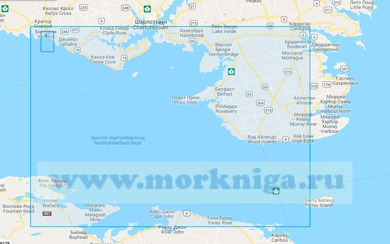 26623 От острова Пикту до гавани Виктория (Маштаб 1:75000)