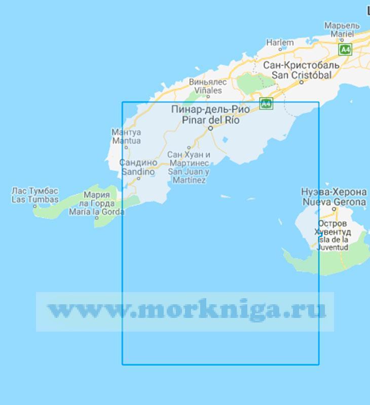 32600 От острова Хувентуд до мыса Кабо-Франсес (Маштаб 1:200000)