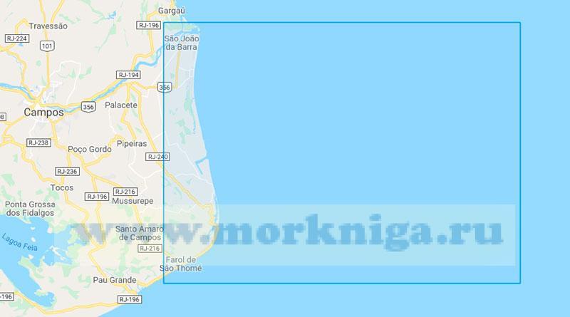 36749 Подходы к порту Асу (Маштаб 1:75000)