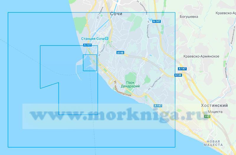38177 Порт Сочи с подходами (Маштаб 1:0)