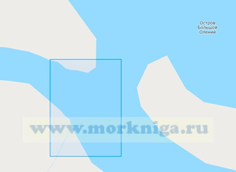 18036 Восточная часть губы Порчниха (Маштаб 1:2000)
