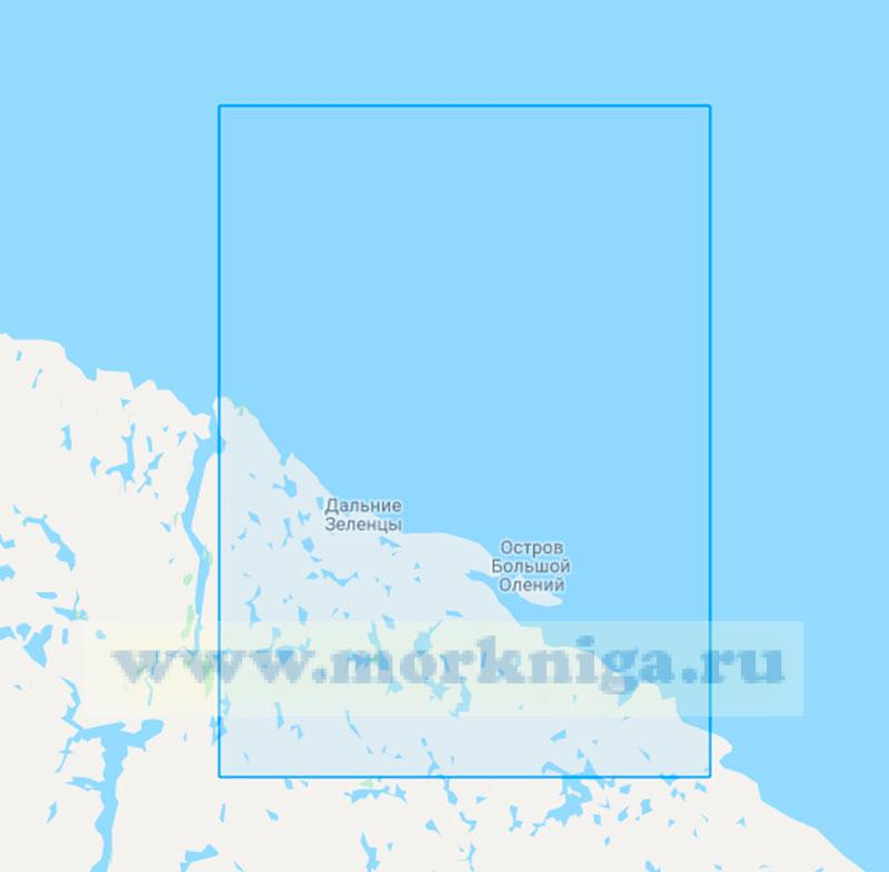 15059 От островов Гавриловские до губы Вящина (Маштаб 1:50000)