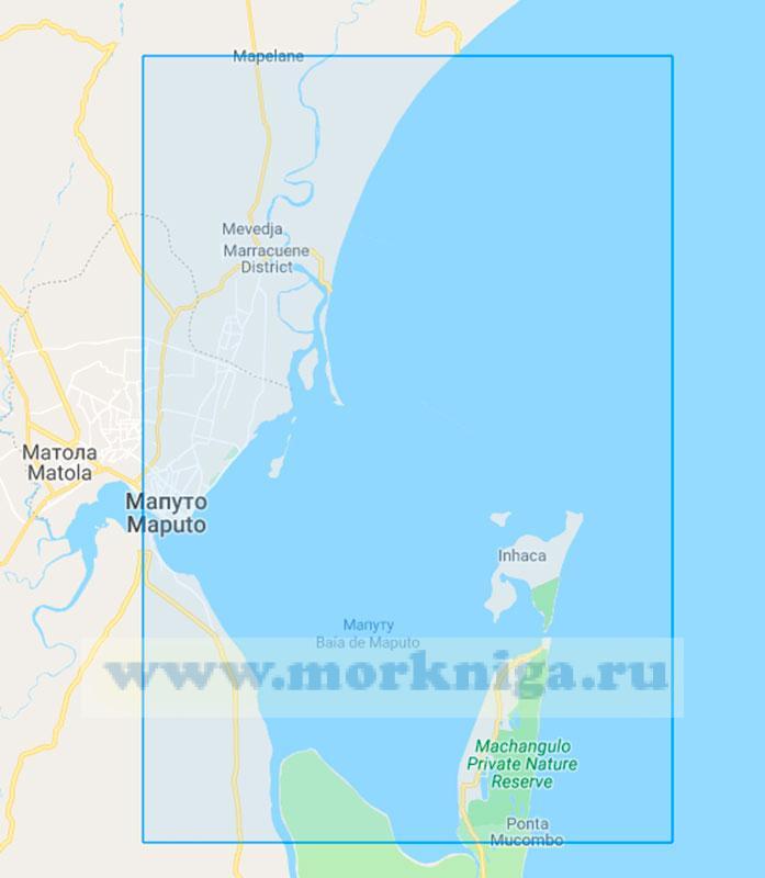 46659 Подходы к порту Мапуту (Маштаб 1:75000)