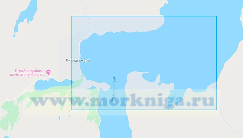 17010 Порт Линахамари (Маштаб 1:5000)