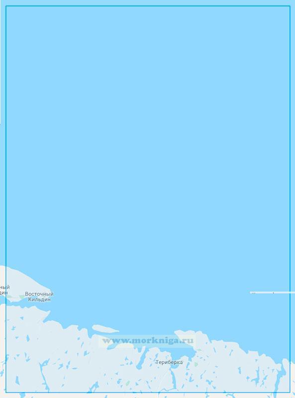13005 От острова Кильдин до островов Вороньи Лудки (Маштаб 1:100000)