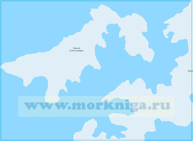 14240 Проливы Кембридж и Архангельского (Маштаб 1:100000)